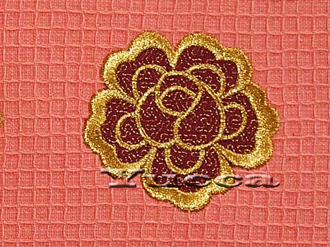 Applique Flower Machine Embroidery Design