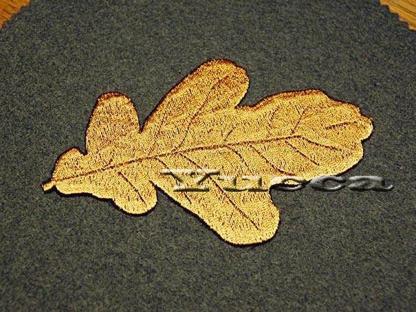 Autumn leaves free machine embroidery design