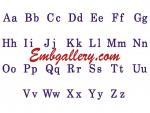 Set of 52 Machine Embroidery Designs