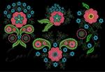 Collection of 4 Machine Embroidery Designs