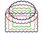 Collection from 8 Machine Embroidery Designs