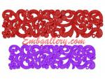 Collection of 2 Machine Embroidery Designs