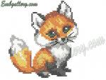 Free Machine Embroidery Design in cross-stitch technique