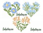 Set of 3 Machine Embroidery Designs