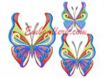 Set of three Machine Embroidery Designs