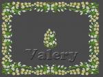 Set of 3 Machine Embroidery Designs by Valery