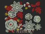 Set of 13 Machine Embroidery Designs