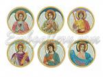Set of 6 Machine Embroidery Designs