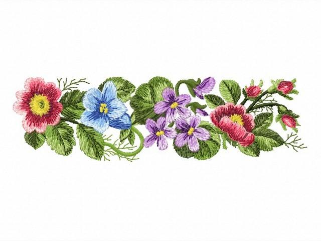 Floral | Machine Embroidery