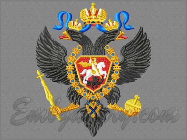 Герб россии файл вышивка 67