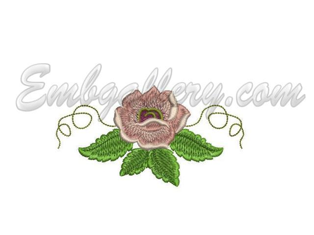 Rose garden 4 machine embroidery design for Garden embroidery designs free