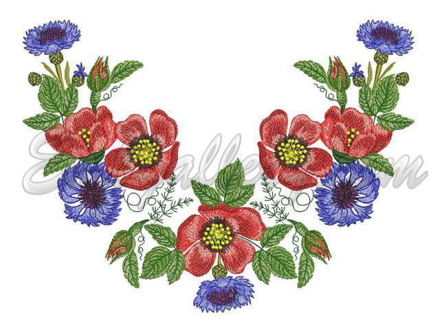 All designs machine embroidery