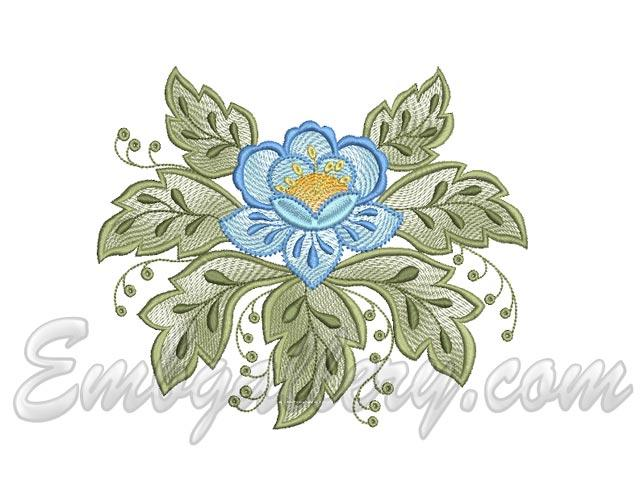 tablecloth spring 1 machine embroidery design