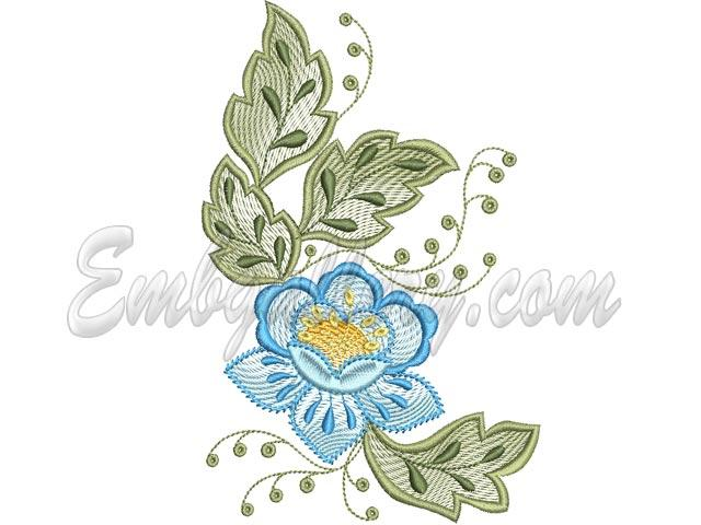 tablecloth spring 3 machine embroidery design