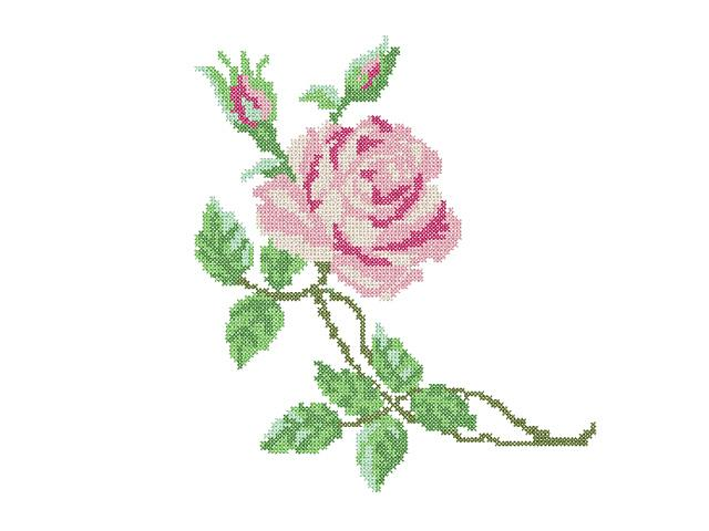 Red Rose Machine Embroidery Designs