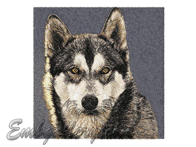 QuotWolfquot  Machine Embroidery Design