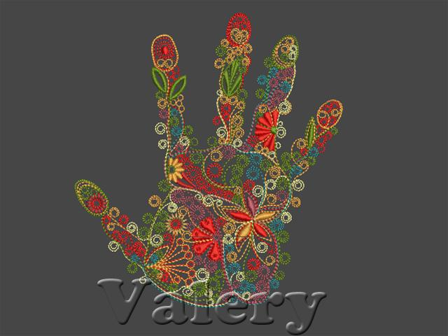 Five brothers machine embroidery design
