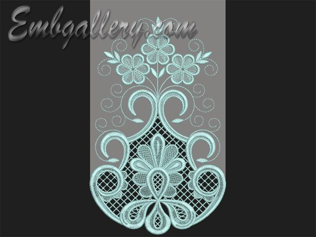 Quot cipollino machine embroidery design