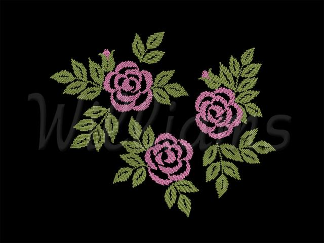 Custom Cheap Embroidery digitizing $1.50/1000 Stitches digitizing