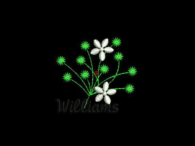 Free Heart Flower Embroidery design - Embroidery Designs.name