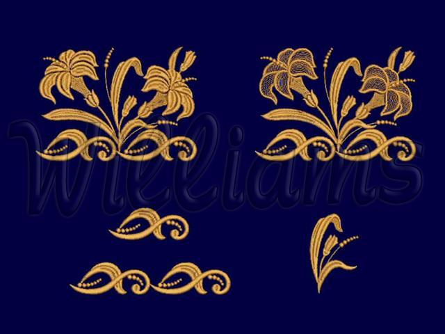 Дизайны машинной вышивки символы
