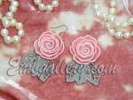 """""""Rose 3D"""" _ earrings"""