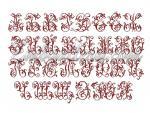 """Russian Monograms in Cross Stitch"""