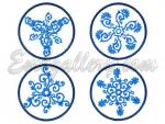 """Collection of Snowflakes""_Set"