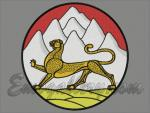 """Coat of arms of North Ossetia""_270mm"