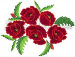 """Poppies applique"""