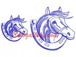"""A Horse and a horseshoe""_Gift with purchase"