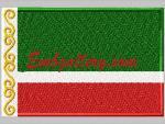 """Flag of the Chechen Republic"""