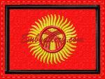 """""""Flag of Kyrgyzstan"""""""