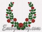 """Russian Roses""_wreath"