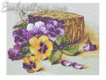 """Basket with violets"""