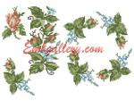 """Rosettes and forget-me-nots"" (Gift with purchase)"