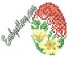 """Easter Egg""_Cross Stitch (free)"