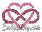 """Heart""  (Cross Stitch)"