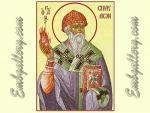 """""""Icon Saint Spyridon Tremithus""""_in Photo Stitch"""