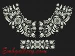 """""""The white expanse""""_Machine Embroidery Designs Set"""