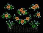 """Wildflowers""_Machine Embroidery Designs Set"