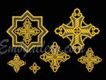 """""""A set of crosses for church vestments"""""""