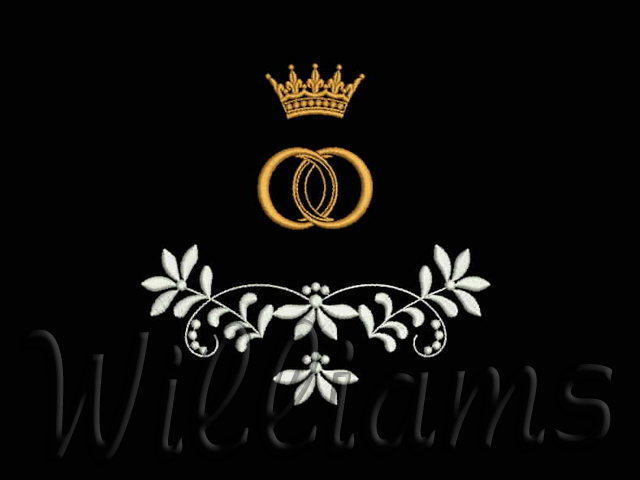 Machine Embroidery Design From The Set Wedding By Williams 56х39mm St 1833 In Zip Dst Jef Pes Vip Vp3 Hus Click On Picture To Enlarge